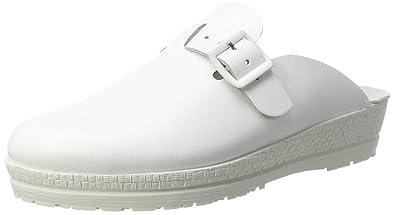 Rohde Damen Neustadt-D Clogs, Weiß (Weiß 00), 36 EU