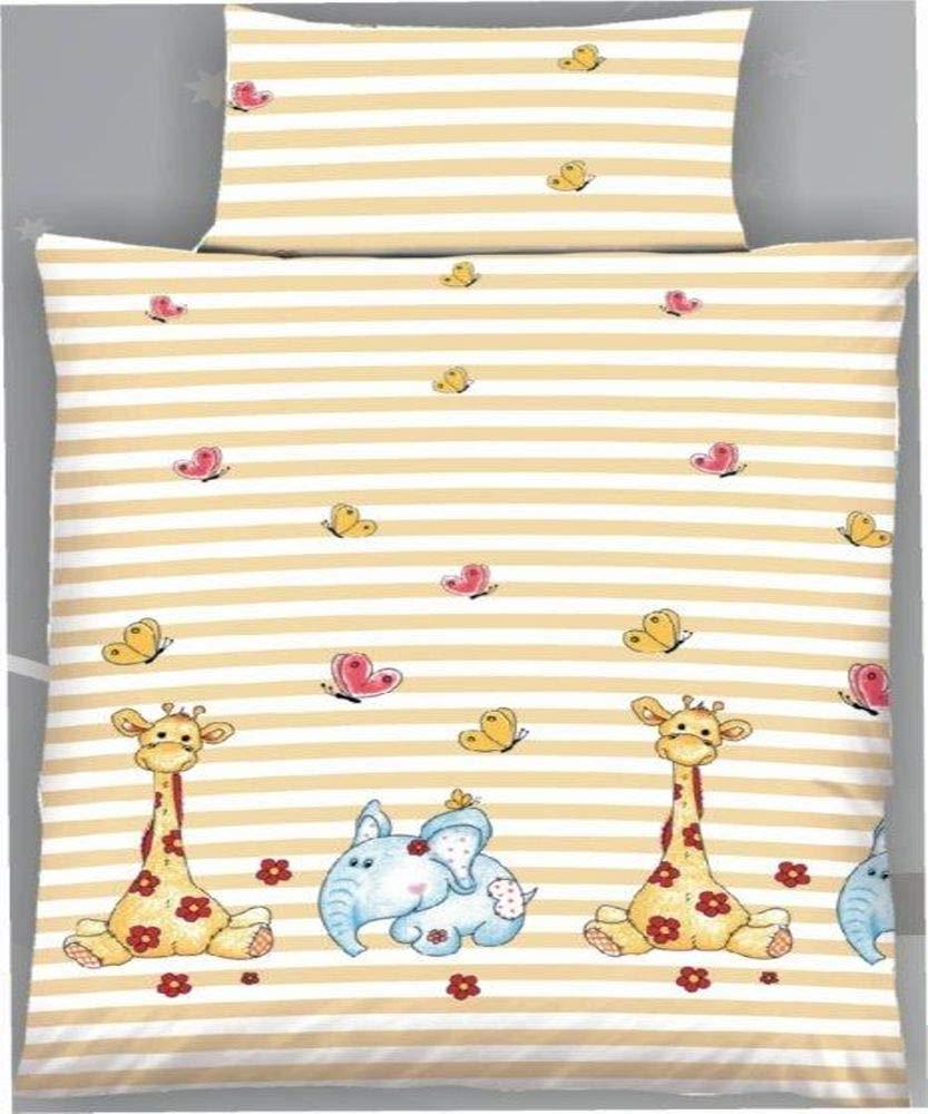 Holiday Tolle Moderne Baby Kinder Baumwolle Bettwä sche mit Reiß verschluss 100x135 40x60, Design - Motiv:Design 1 Dreamhome24
