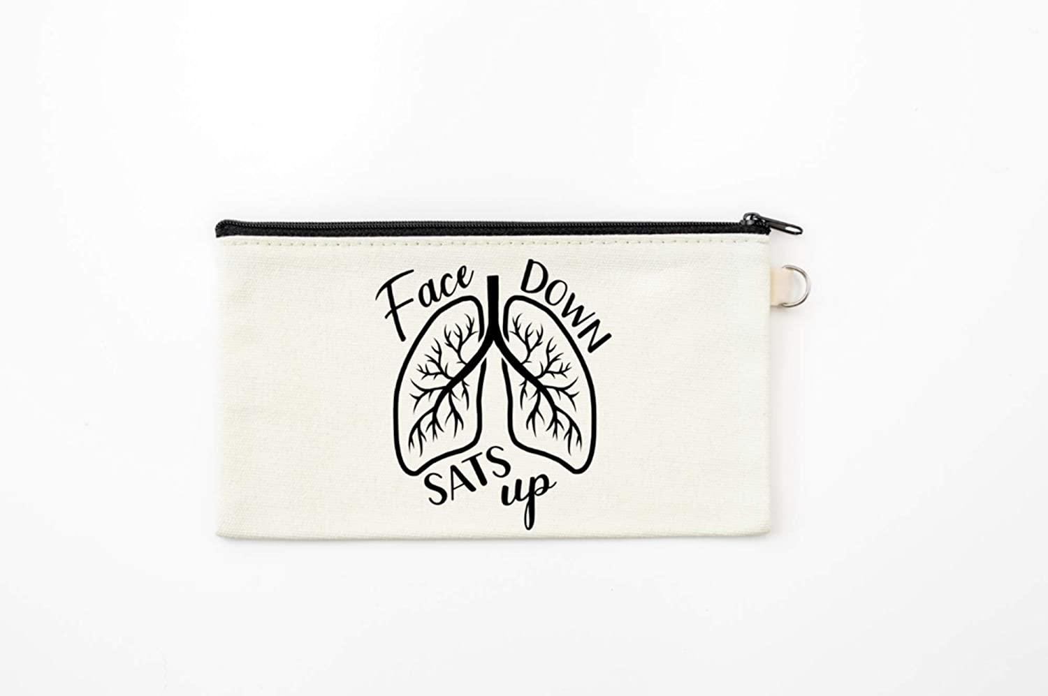 Funny Tote Pen Pouch Bag for Nurses and Respiratory Therapists