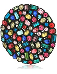 """confetti and cocktails multi color stone disc brooches and"