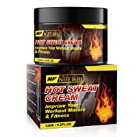Hot Sweat Cream, Fat Burning Cream for Belly, Slim Shaping Workout Enhancer Gel for Women and Men, Tummy Slimming Cream &Cellulite Treatment for Thighs, Legs, Abdomen, Arms and Buttocks