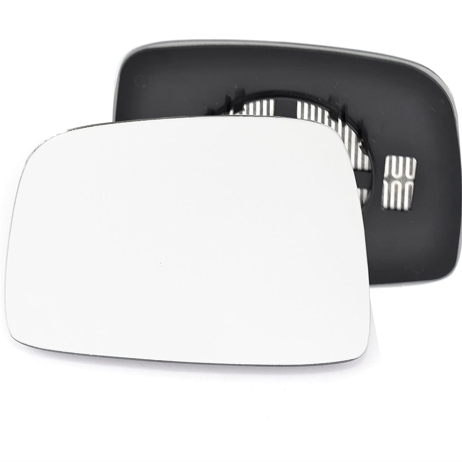 Passenger left hand side Heated wing door Silver mirror glass with backing plate #C-SHY/L-JPCE01 [Clip On] Sylgab