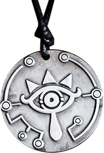 The Legend of Zelda Collar Cosplay Sheikah Eye/Sheikah Slate ...