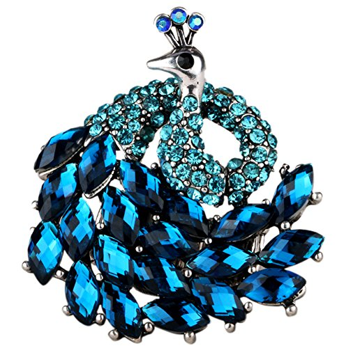 Angel Jewelry Crystal Peacock Stretch