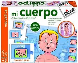 Diset 63689 - Mi Cuerpo: Amazon.es: Juguetes y juegos