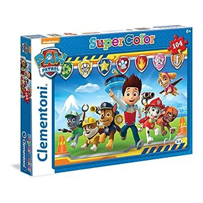 Clementoni Paw Patrol Supercolor Puzzle 104 Pezzi 27945