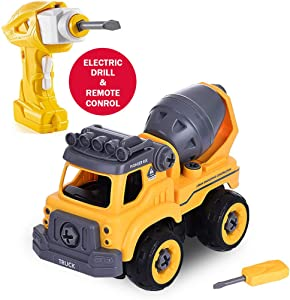 Little Story DIY Mixer Removable Toy-Electric Drill-Convert to Remote Control Car Shipped in The US, Arrived Quickly