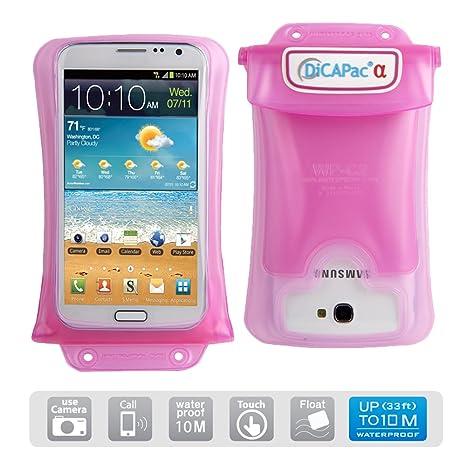 Amazon.com: DiCAPac Waterproof Case para HTC One, LG G ...