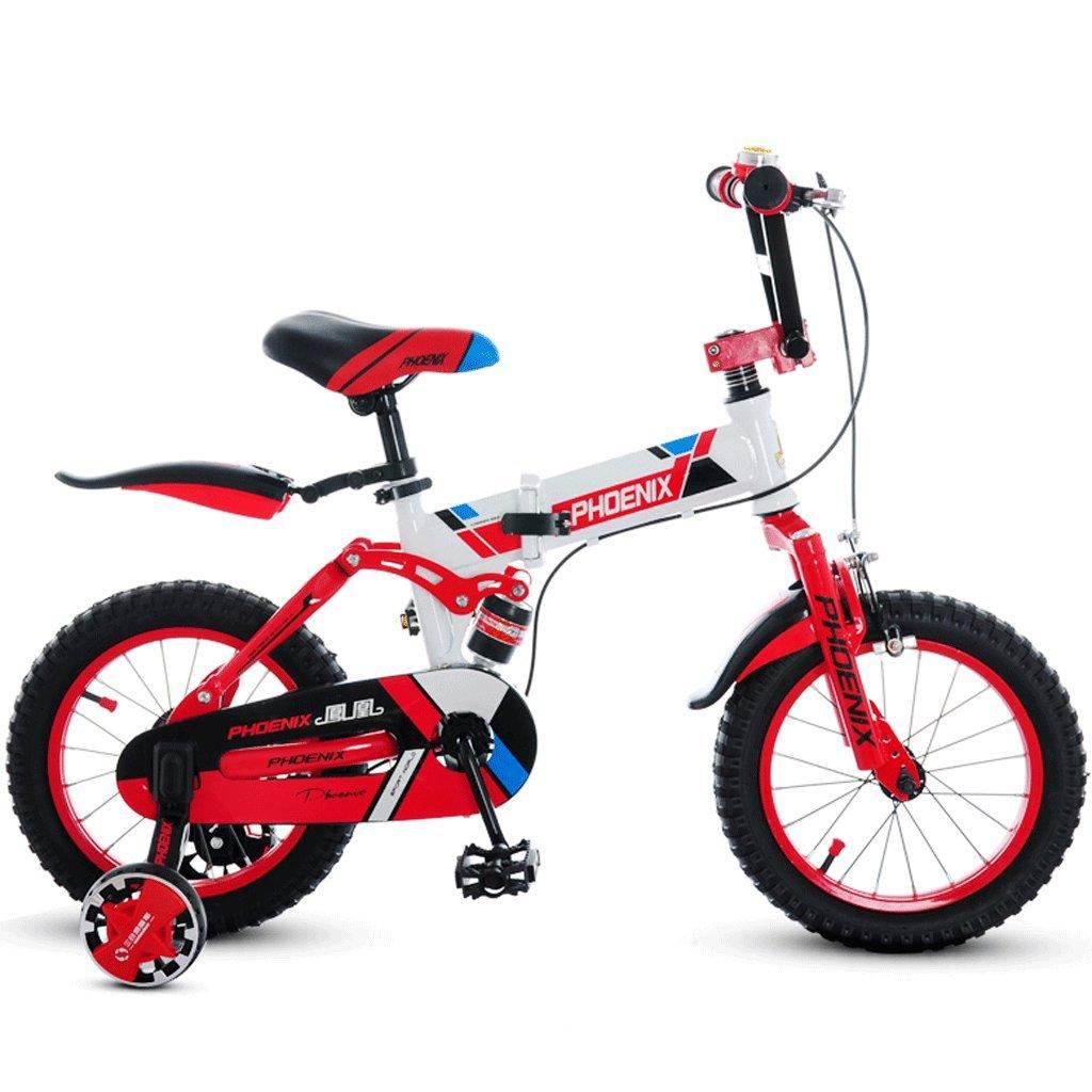 子供の折りたたみ自転車14/16/18インチの男の子サイクリングガール3-12歳のベビーカーの子供のマウンテンバイク (色 : B, サイズ さいず : 16 inches) B07D3614ZS 16 inches|B B 16 inches