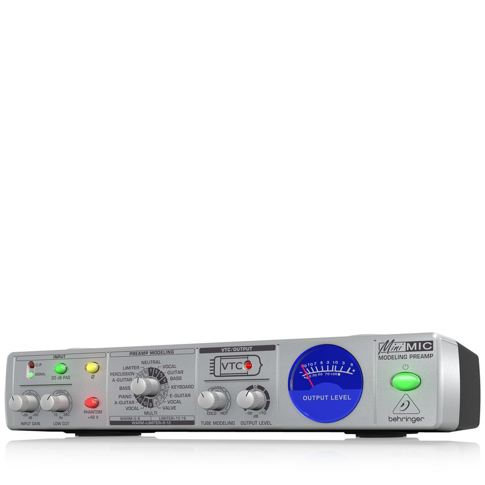 BEHRINGER ベリンガー マイクモデリングプリアンプ MIC800-MINIMIC B000KUENNU