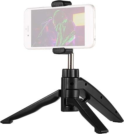 Muslady - Soporte para teléfono móvil con clip ajustable para smartphone, grabación de vídeo en línea: Amazon.es: Instrumentos musicales