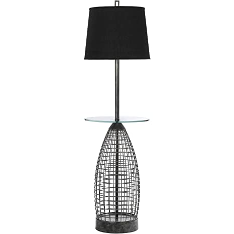 Amazon.com: AF iluminación Grid – Lámpara de pie – de peltre ...