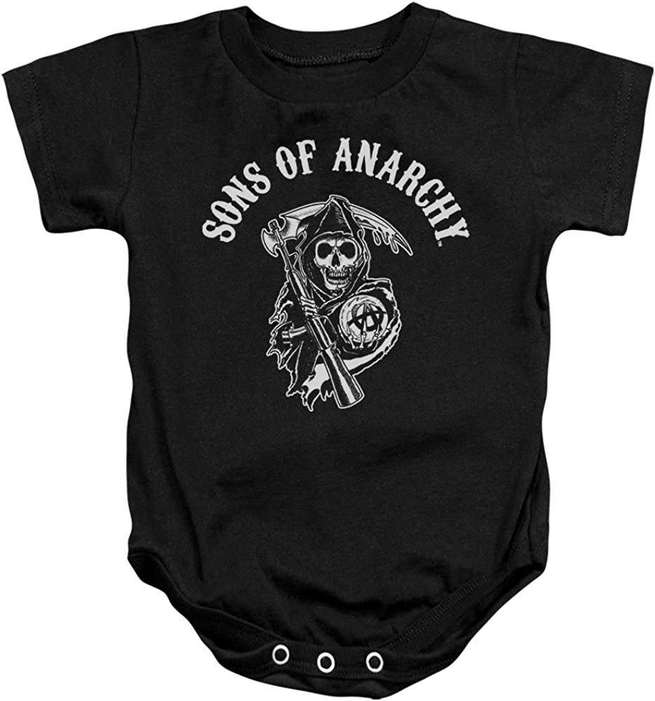 Sons Of Anarchy SOA Reaper Unisex Baby Snapsuit