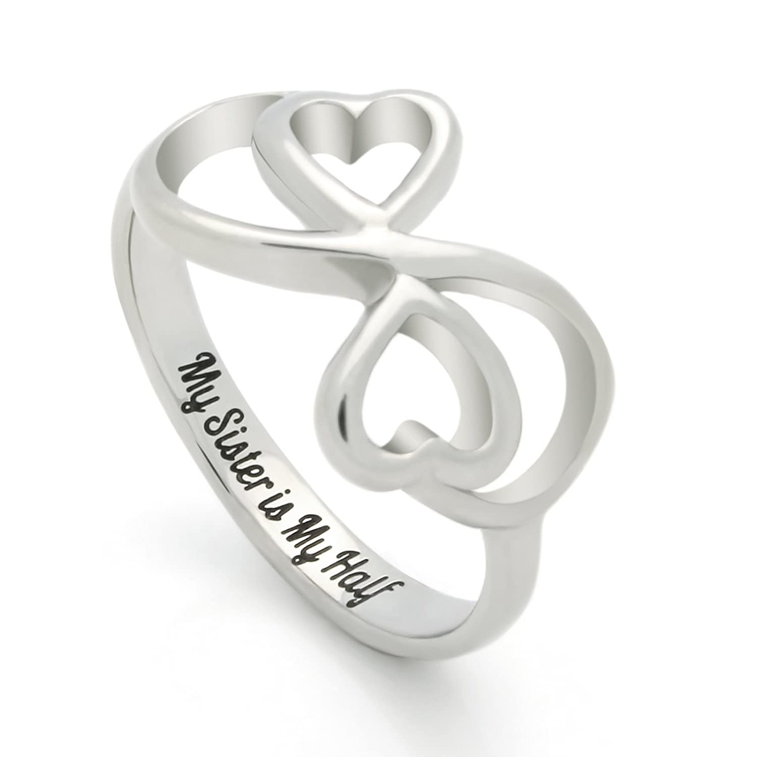 promise jade silver cz ring pin rings infinity sterling and
