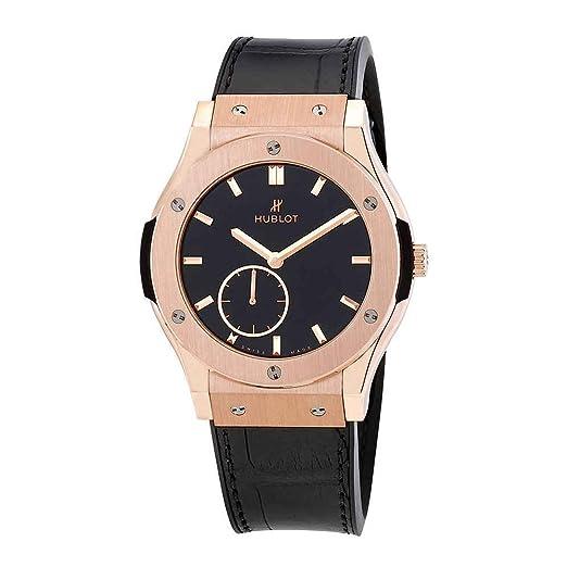 Hublot Classic Fusion Classico - Reloj de Pulsera para Hombre, Oro Rosa de 18 Quilates, 42 mm, 545,OX.1280.LR: Amazon.es: Relojes