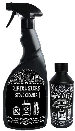 Bote de líquido restaurador de Dirtbusters y esponja ...