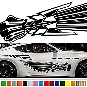 Amazoncom Machine Car Sticker Car Vinyl Side Graphics Wa Car - Decal graphics for carsvehicle graphics