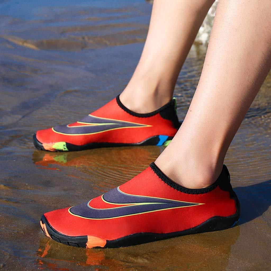 LuckyGirls ❤️/• /•❤️ Zapato de Agua para Buceo Snorkel Surf Piscina Playa Hombre Mujer Calzado Nataci/ón Deportes Acu/áticos Zapatillas Aire Libre Escarpines Aquagym Secado R/ápido Pareja
