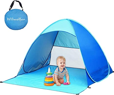 Sports & Outdoors Camping Shelters Homened Pop Up Baby Beach