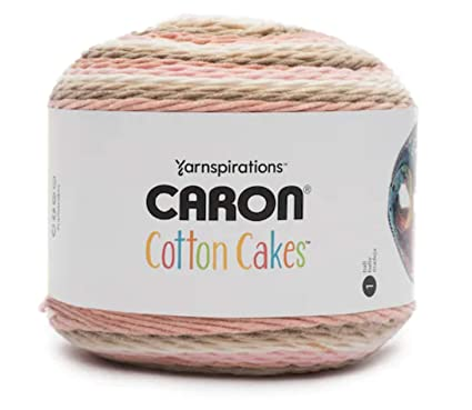 Amazon.com Caron Cotton Cakes Self Striping Yarn 530 yd/485