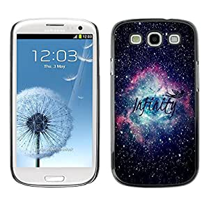 Slim Design Hard PC/Aluminum Shell Case Cover for Samsung Galaxy S3 I9300 Cosmos Space Stars Astronomy / JUSTGO PHONE PROTECTOR