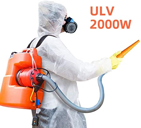 FYLD 20L Eléctrico Nebulizador Pulverizador ULV Portátil Jardín Atomizador Industrial Desinfección, para Granja Hotel Colegio Patio: Amazon.es: Hogar