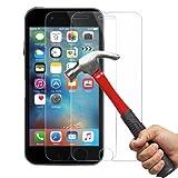 iPhone 6 / 6S Pellicola Protettiva, [2 Pack] Ohero Temperato di Protezione in Vetro Dello Schermo per iPhone 6 / 6S [Anti-Scratch] 0,2mm 9H Schermo Protezione
