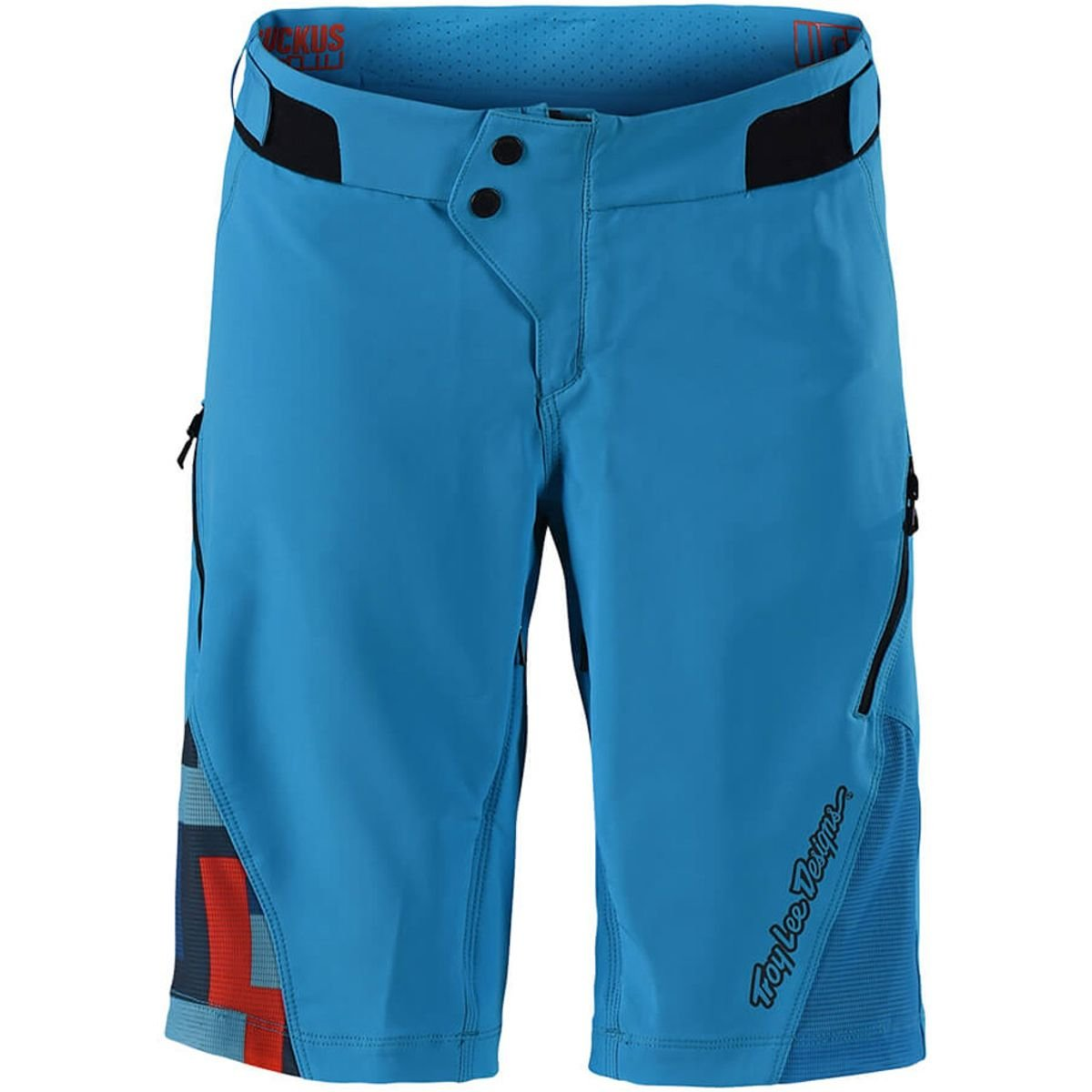 Troy Lee Designs Ruckus Solid Women's Off-Road BMX Cycling Shorts - Ocean/Small
