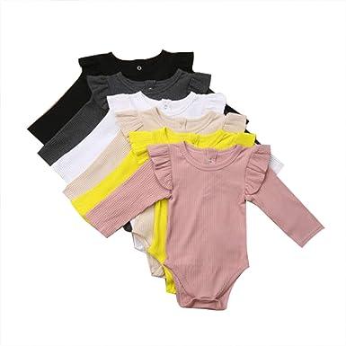 Summer Newborn Infant Baby Girls Boys Romper Bodysuit Jumpsuit Outfit Clothes UK