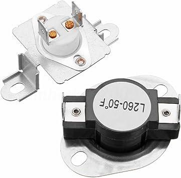 Thermal Fuse Kit Fit Pour Samsung Sèche-linge Thermostat DC47-00018A /& DC96-00887A