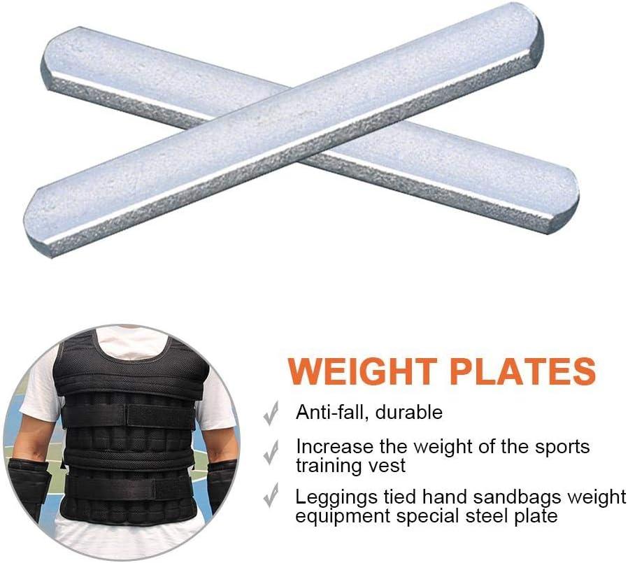 whelsara placas de acero para porta chalecos de peso apretado y espinilleras especiales invisibles de acero antioxidantes y antioxidantes presents