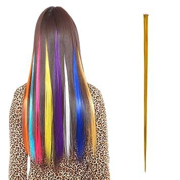 Haarstrahnen bunt
