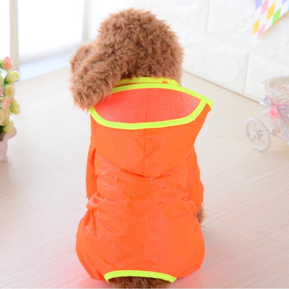 zhxinashu À Capuchon de Chien Imperméables Vêtements Mignon d'Extérieur(Bleu L) Electronicproducts clothing gardeningproducts