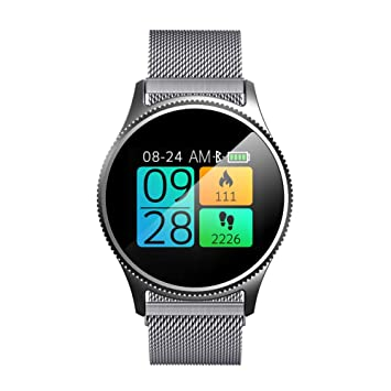 Amazon.com: XZYP Bluetooth Smartwatch,Metal Strap Touch ...