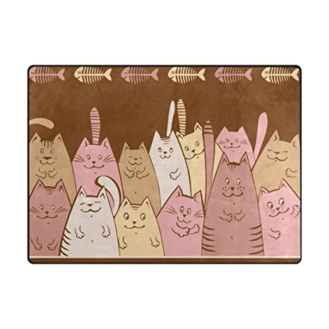amazon com tsweethome doormat area rugs welcome mats with cartoonimage unavailable