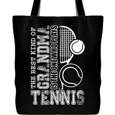 Amazon.com: The Best Grandma Who Plays - Bolso de tenis con ...