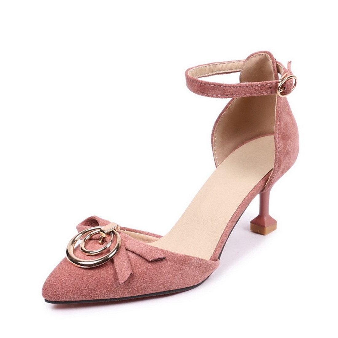 timeless design c5a94 b3066 Women s Summer Sandals Fashion Stiletto Heel Toe Toe Toe Ankle High Heels  Pumps Large Size Party