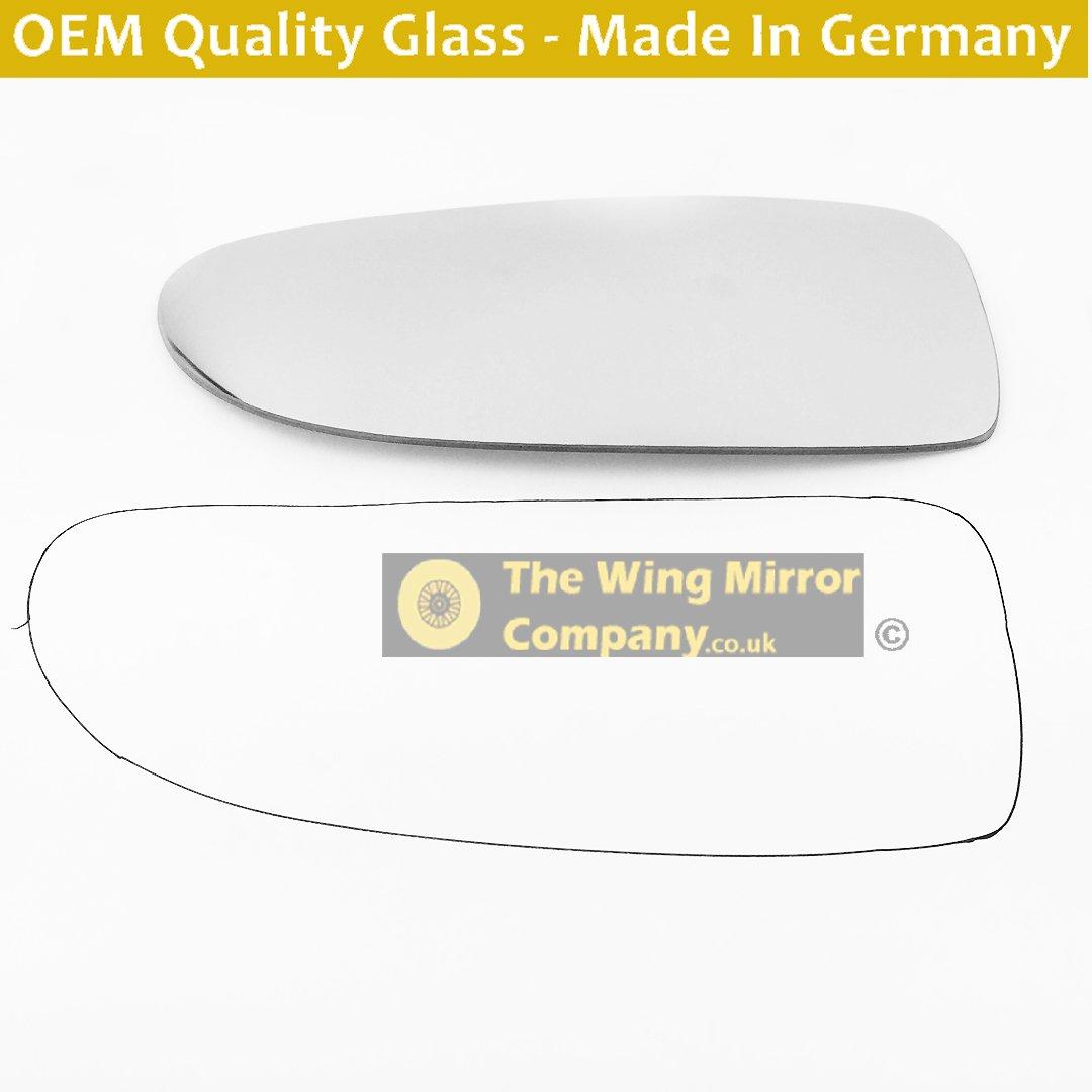 PEBoxer 1999 to 2005 Blind Spot, Silver Wing Mirror Glass LH(Passenger Side) OEM-WMC