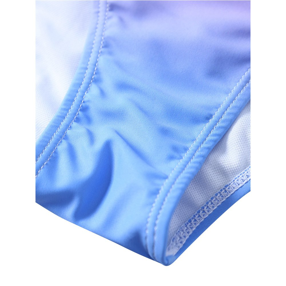 1fe758513ed3a Pxmoda Women's Gradient Color Seashell Bikini Set Padded Mermaid Swimsuit  (XL, Purple-1): Amazon.in: Clothing & Accessories