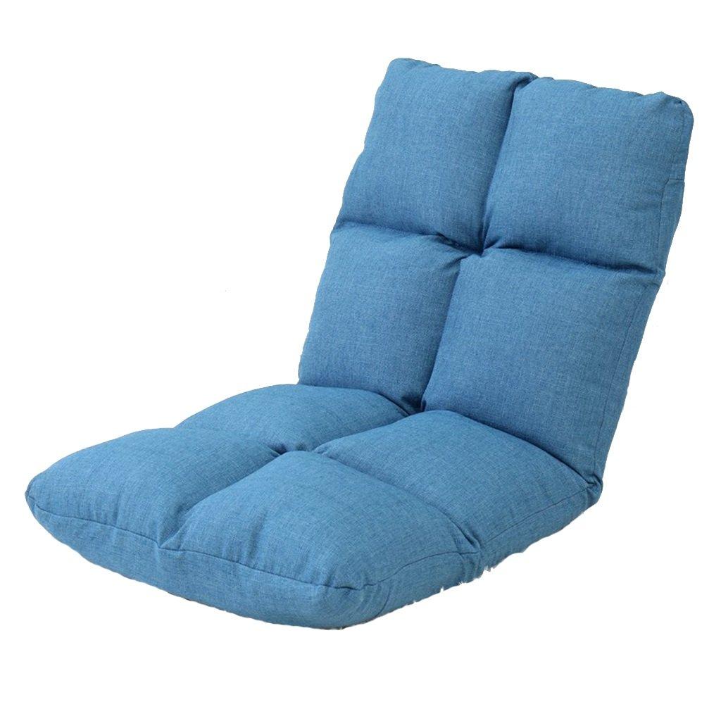 Unbekannt Bodenstuhl Japanischer Beinloser Stuhl Für Jugendlich Kinderbaby, Justierbare Tragbare Leinenboden-Stühle