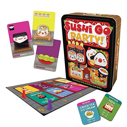 Price comparison product image Sushi Go Party!,  Educational Toys,  2017 Holiday Toys