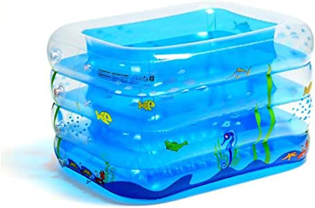 DALL Piscinas hinchables Doble Drenaje Piscina Inflable Piscina ...