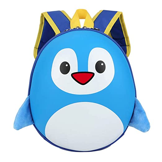 Fabal ChildrenS Backpack 3D School Bag Mochila Escolar Menino Kindergarten School Bags For Girls Small Penguin