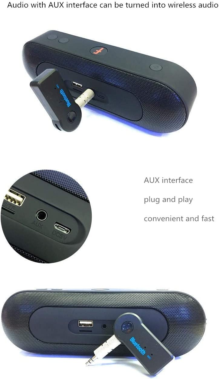 Bluetooth Receiver 3.5mm Interface Bluetooth Adapter 4.0aux car Bluetooth Audio Receiver Converter