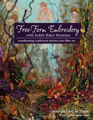 Free-Form Embroidery with Judith Baker Montano: Transforming Traditional Stitches into Fiber Art - Natura Duvet Collection