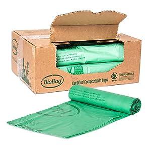BioBag 48G4248 Compostable Trash Bag, 48 Gallon