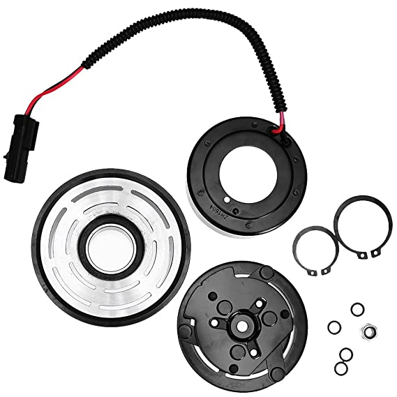 Amazon Com Quioss Ac Ac Compressor Clutch Assembly With Pulley