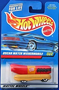 Oscar Mayer Wienermobile Hot Wheels 1:64 Scale Collectible Die Cast Metal Toy Car Model#204