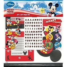 EK Success Jolees Disney 12 by 12 Mickey and Friends Scrapbook Page Kit