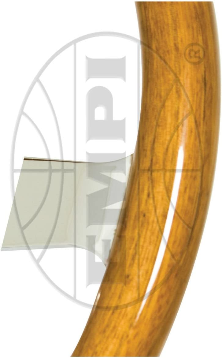 380mm W//31mm Grip 3 Dish With Hub EMPI Classic Wood Steering Wheel Compatible With Bug Ghia